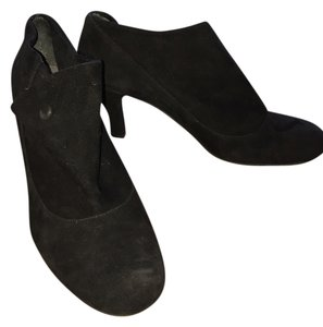 Me Too Black Suede Boots