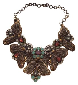 Deepa Gurnani Beaded statement necklace