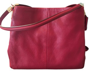 Coach Edie 36551 Phoebe Exotic Trim Shoulder Bag