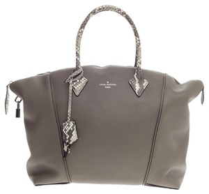 Louis Vuitton Leather Tote