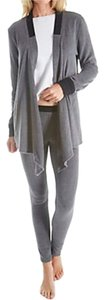 DKNY DKNY Cozy Long Sleeve Wrap and Legging Set 2913440 ORIG. $64 SMALL