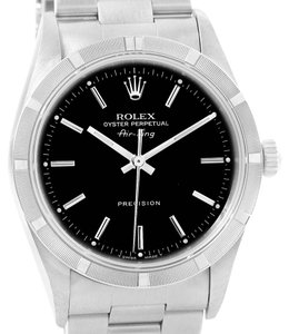 Rolex Rolex Air King Black Index Dial Stainless Steel Mens Watch 14010