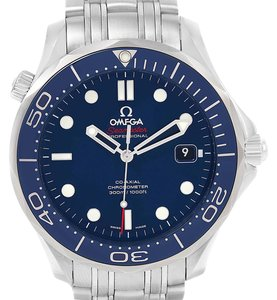 Omega Omega Seamaster Bond Co-Axial Watch 212.30.41.20.03.001 Box Papers