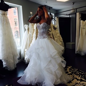 Watters & Watters Bridal Nori Skirt Style 14032 And Maelin Corset Style 14724 Wedding Dress