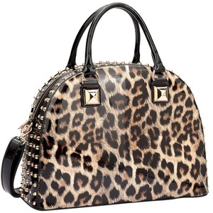 Other Classic Large Handbags Vintage The Treasured Hippie Tote in Leopard