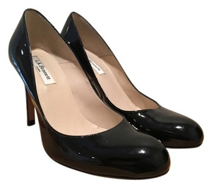 L.K. Bennett Made Spain All Leather Patent Patent Black patent Pumps