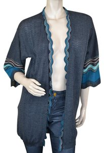 M Missoni Chevron Wool Cardigan