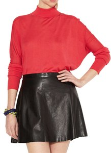 Marc by Marc Jacobs Silk Sweater Cocktail / Occasion Dolman Sleeves Open Back Top red