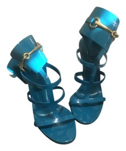 Gucci Deep Cobalt Sandals