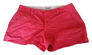 Old Navy Mini/Short Shorts Coral Red