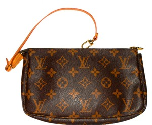 Louis Vuitton Vinage 1995 Clean Like New Condition Wristlet in Monogram