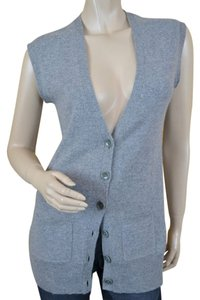 Lord & Taylor Cashmere Luxe Vest Cardigan