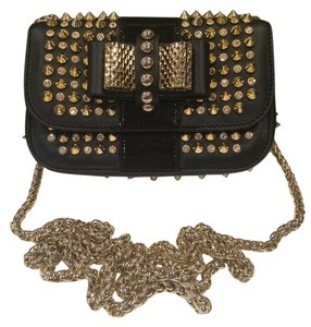 Christian Louboutin Sweet Charity Spike Shoulder Bag