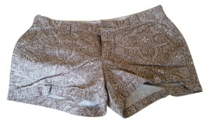 Old Navy Mini/Short Shorts Brown with white.