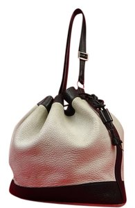 Hermès Noe Drawstring Bicolor Two-tone Shoulder Bag