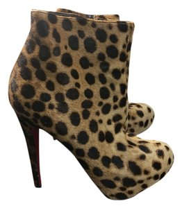 Christian Louboutin Animal print Boots