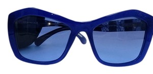 Chanel Stunning Blue Lace Chanel Sunglasses 5296 c.1483/S2 56