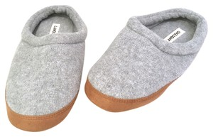 Lands' End Grey Mules