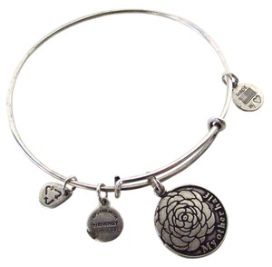 Alex and Ani My Other Half Charm Bangle Bracelet