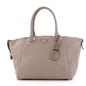 Prada Leather Satchel in Grey