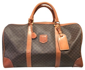 Céline Boston Brown Travel Bag