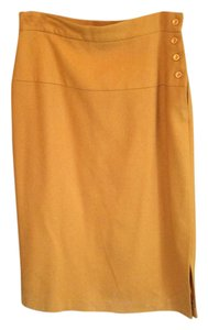 Michele Vintage Midi Skirt Orange