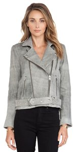 IRO Isabel Marant Rag & Bone Alexander Wang Veda Acne Studios Gray Leather Jacket