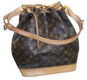 Louis Vuitton Noe Canvas Shoulder Bag