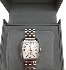Michele MWW02A000602 NIB MINI URBAN SILVER TONE WATCH