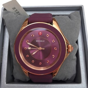 Michele NIB CAPE TOPAZ ROSE GOLD BERRY WATCH MWW27A000002