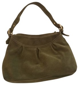 80c425746078 Added to Shopping Bag. Via Spiga Hobo Bag. Via Spiga Olive Green Genuine Suede  Leather ...