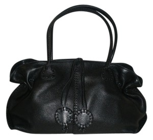 Carlos Falchi Satchel in Black