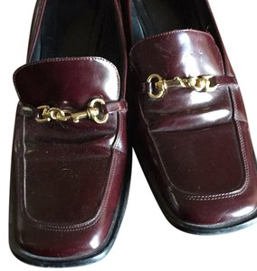 Coach Burgandy Pumps