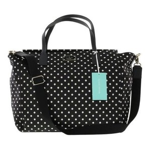 Kate Spade Dot Tote Black white polka Diaper Bag