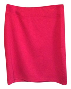 Style & Co Polyester Skirt Red