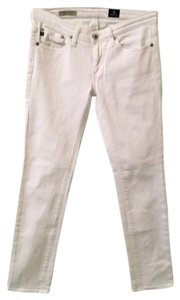 AG Adriano Goldschmied Straight Pants White