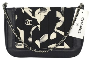 Chanel Blue & Black Clutch