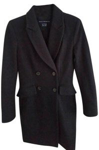 French Connection Wool Long Pea Coat