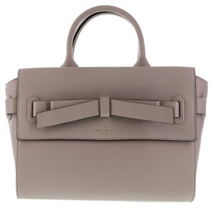 Kate Spade Pebbled Leather Satchel in Tan