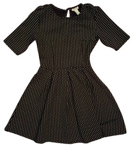 Forever 21 Vintage Polka Dot Keyhole Dress