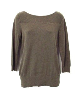 Banana Republic 3/4 Sleeve Cotton Blend Sweater