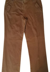 Talbots Boot Cut Pants Khaki Tan