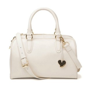 Cuore & Pelle Satchel in off white