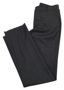 New York & Company Straight Straight Pants Charcoal Grey