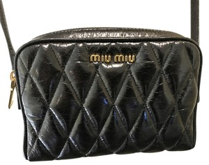 Miu Miu Designer Leather Cross Body Bag