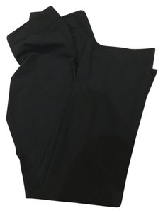 The Limited Long Work Boot Cut Pants Black