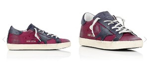 Golden Goose Deluxe Brand purple navy blue Athletic