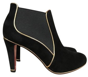 Christian Louboutin Loulouboot Suede Stiletto black Boots