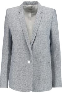 Sandro Blue and White Blazer