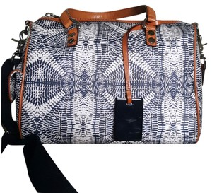 L.A.M.B. Satchel in Black & White